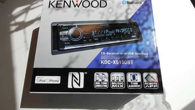 kenwood kdc x5100bt