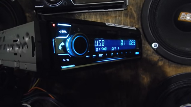 автомагнитола kenwood kdc x5100bt
