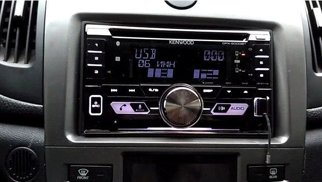 автомагнитола kenwood dpx 5000bt